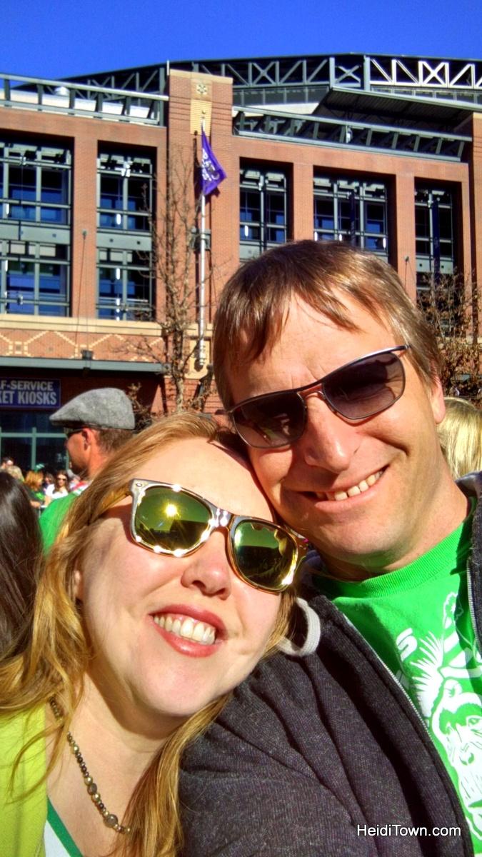 Denver on St. Patrick's Day. HeidiTown.com