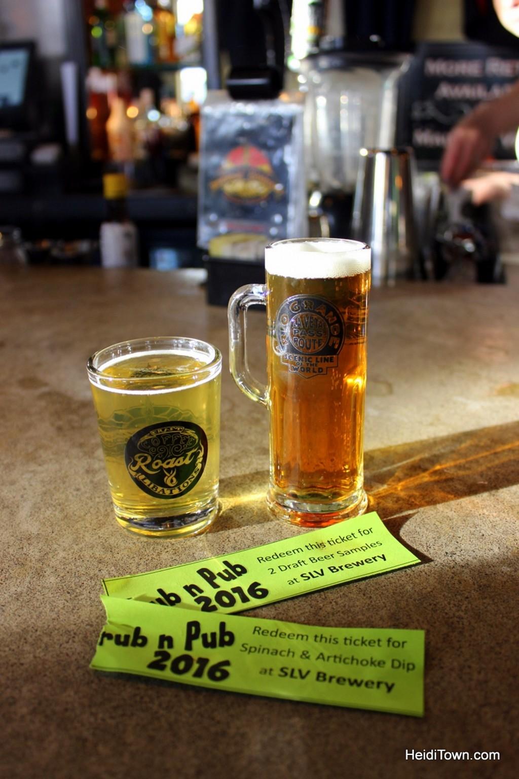 Grub & Pub in Alamosa during Rio Frio Ice Fest. HeidiTown.com