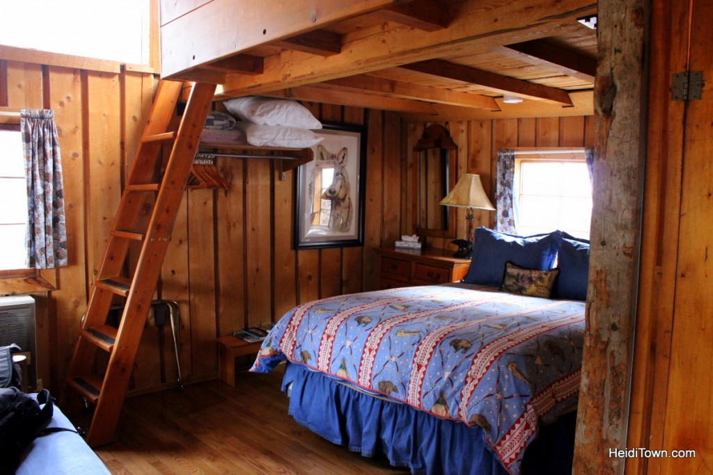 experience the magic of Avalanche Ranch. Inside Cabin #8. HeidiTown.com