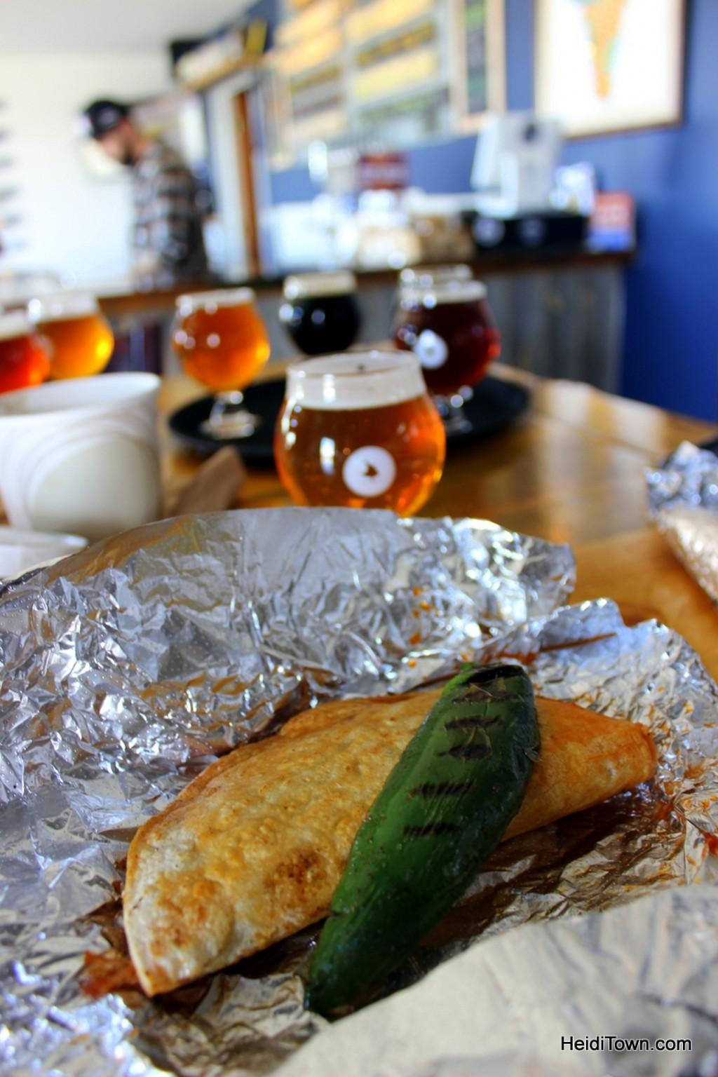 the best taco i ever ate in colorado. Taco Cabo, barbacoa taco. HeidiTown.com