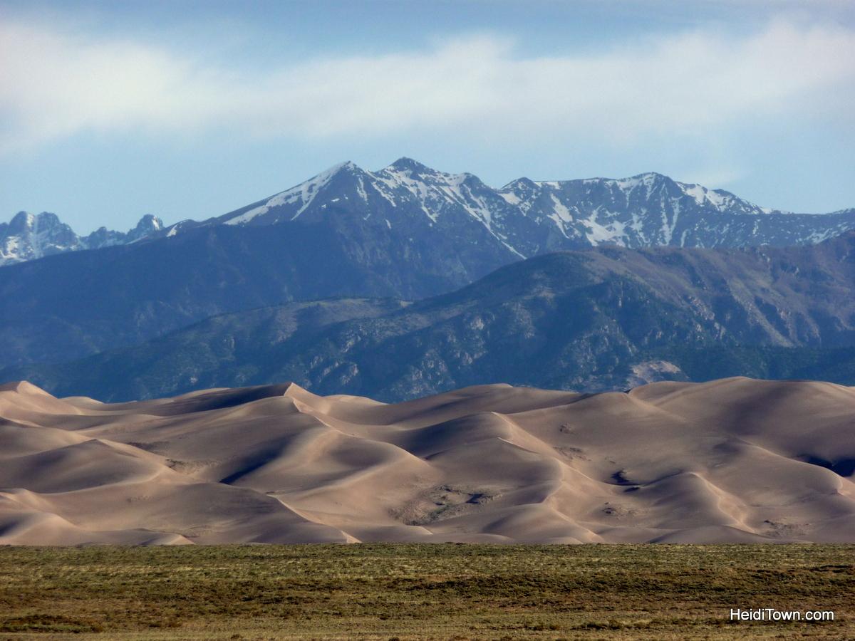 Find Your Park Colorado's National Parks. Great Sand Dunes National Park. dunes shot. HeidiTown.com