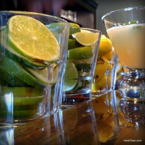 Five things to do in Pagosa Springs this summer. Patio cocktails at San Juan Marketplace. HeidiTown.com