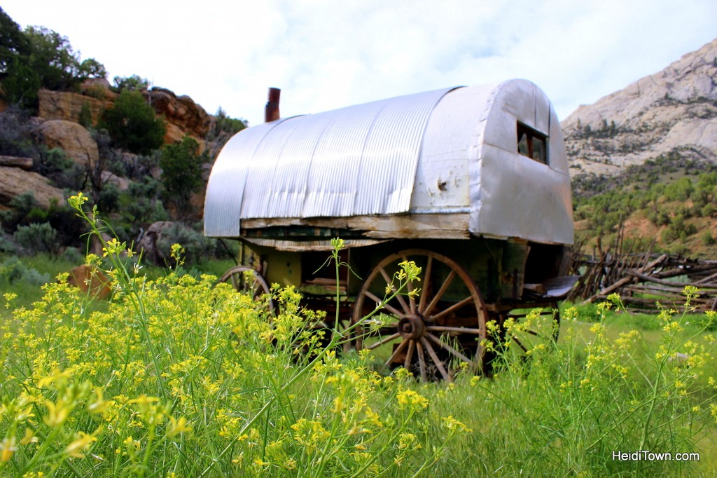 Camping at Echo Park in Dinosaur National Monument. Exploring the Chew Ranch. HeidiTown.com
