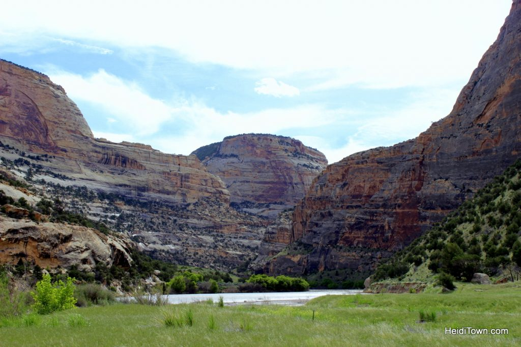 Easy hiking around Echo Park, Dinosaur National Monument. Meadow near the confluence. HeidiTown.com