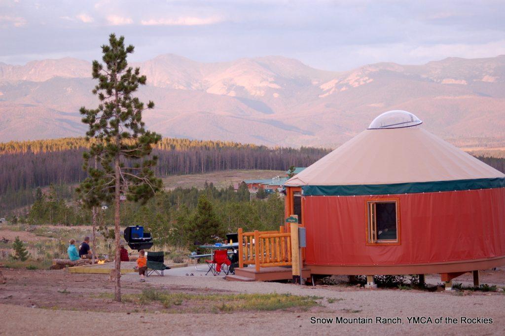 Girlfriend getaway in the colorado rocky mountains for Garden ranch ymca pool