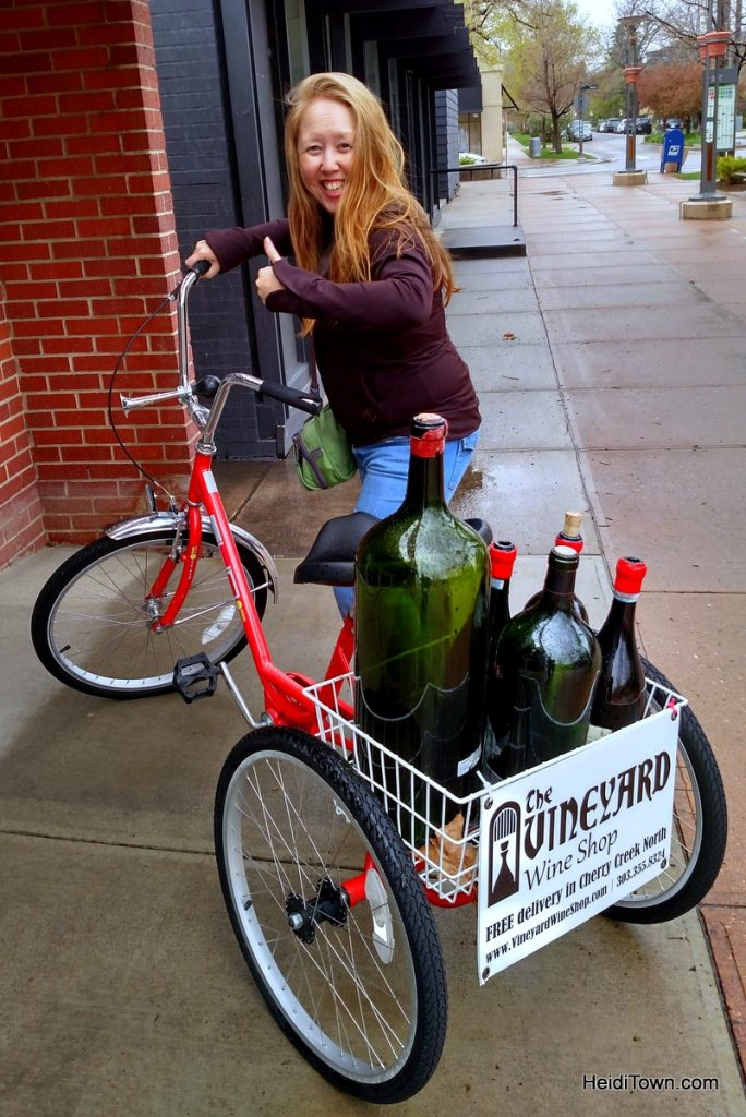 The Good life in Cherry Creek at JW Marriott. Wine shop photo. HeidiTown.com