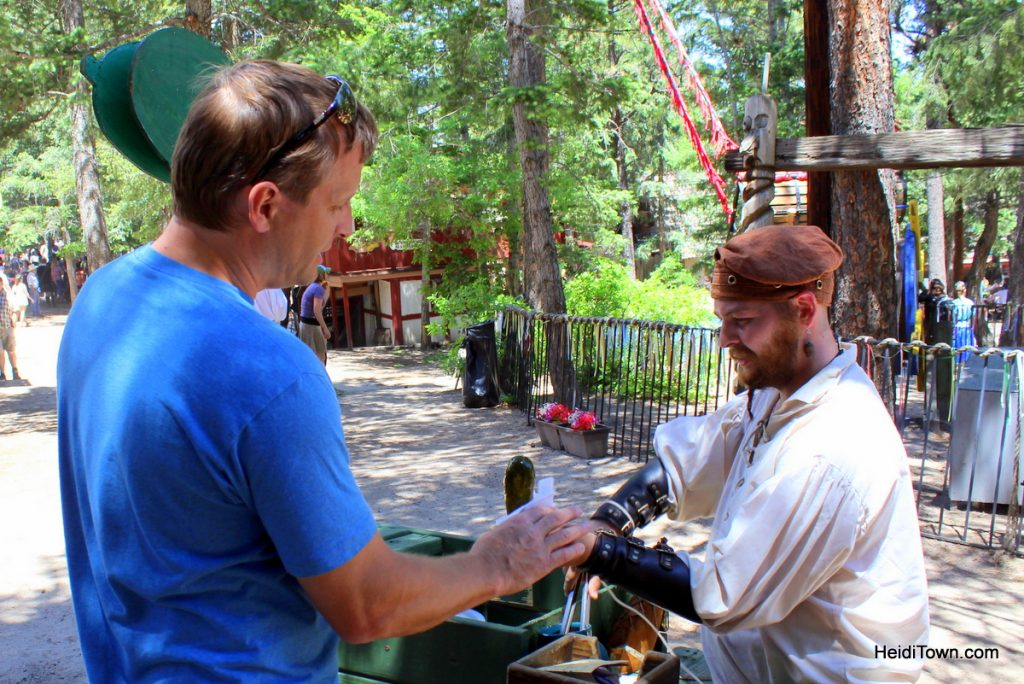 9 and a half things to do at Colorado Renaissance Festival. eat a pickle. HeidiTown.com