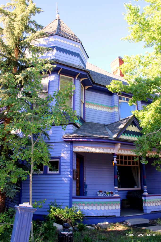 A stay at Colorado Trail House. Victorian house in Leadville, Colorado. HeidiTown.com