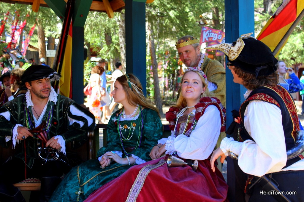 Colorado Renaissance Festival 2016 win tickets. the royal court. HeidiTown.com