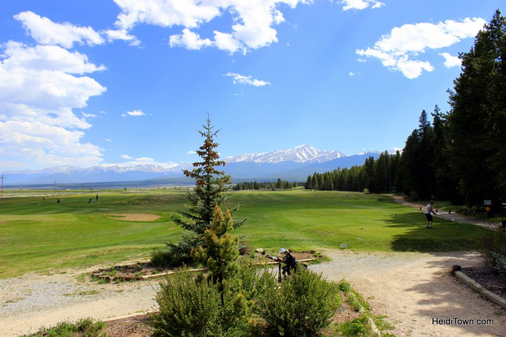 Going back to golf. The view from the Mount Massive Clubhouse. HeidiTown.com