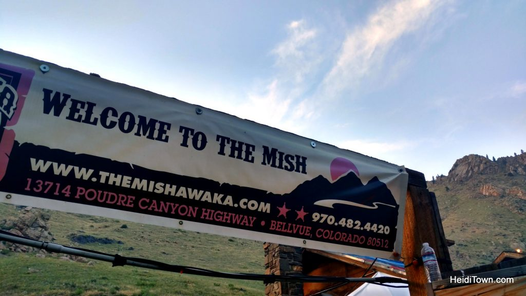 How I almost lost my Colorado Cool Kid Card. The Mishawaka entry sign. HeidiTown.com