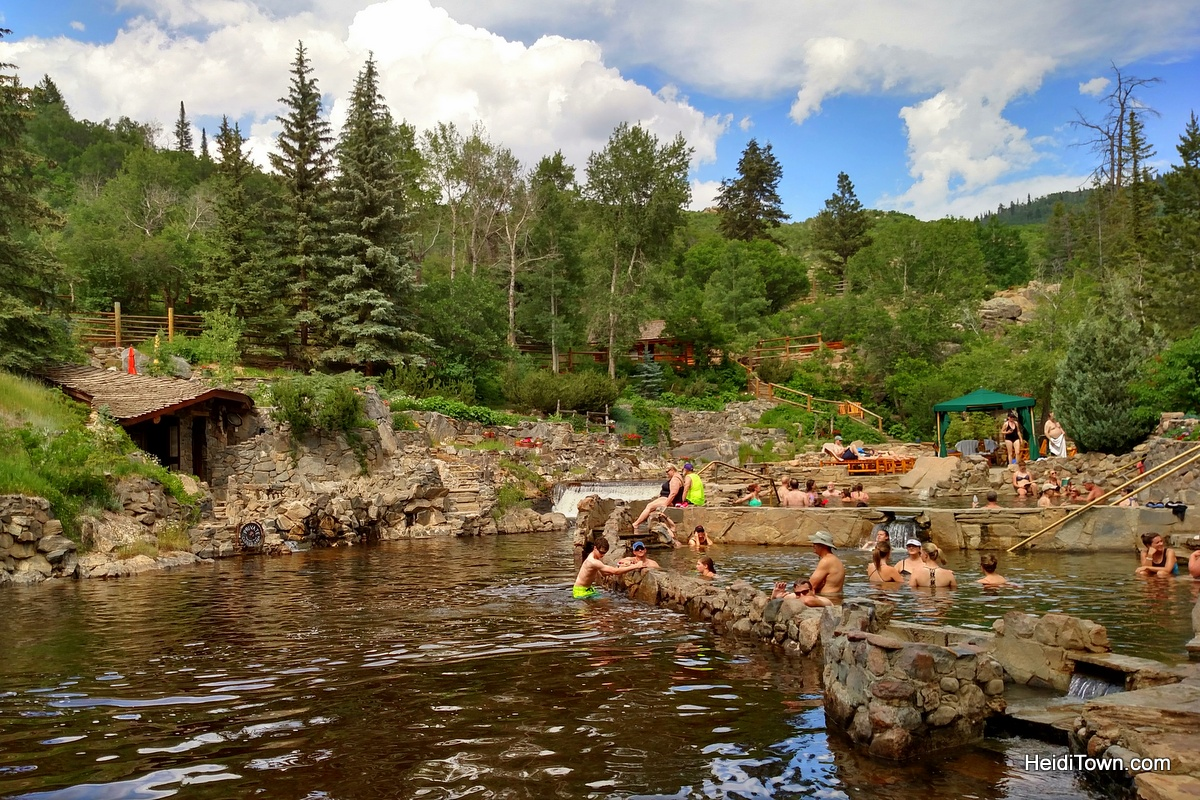 Steamboat Summer Boat List Challenge. Strawberry Park Hot Springs. HeidiTown.com