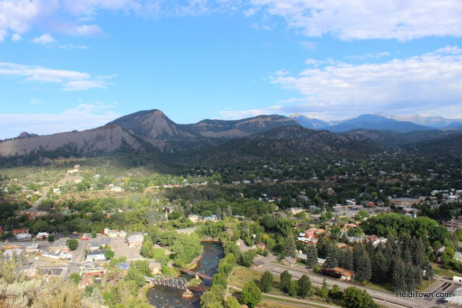 Durango from Fort Lewis College. Featured Festival San Juan Brewfest 2016. HeidiTown (2)