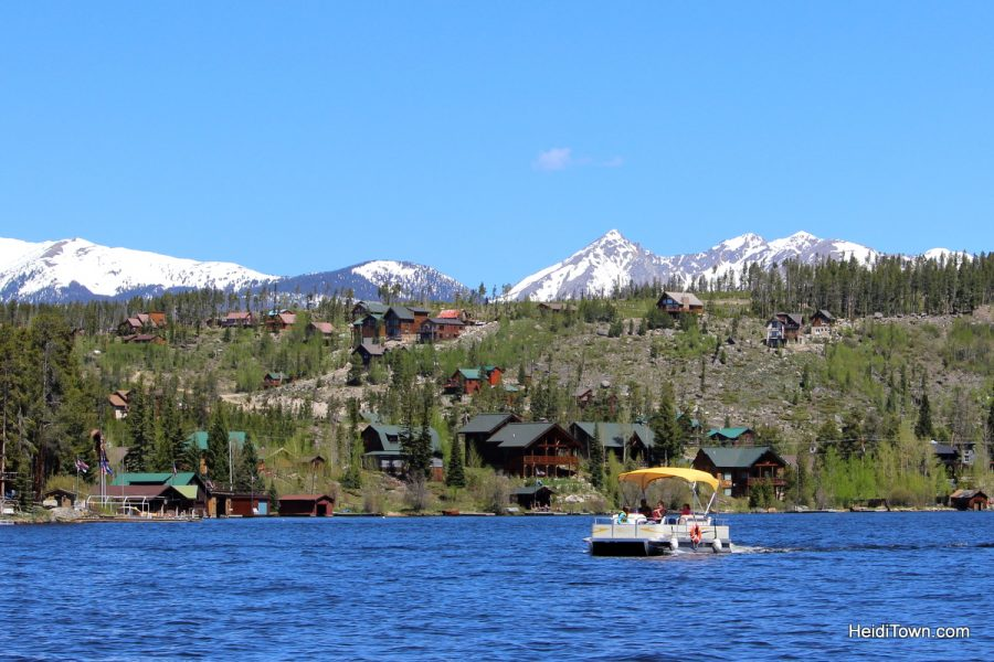Last minute Colorado summer trip ideas - go boating. HeidiTown.com