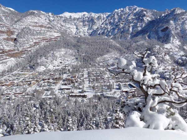 Spend Christmas in Ouray, photo by Dan Navakowski