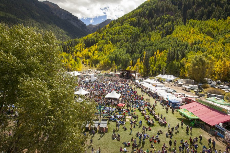 Telluride Blues & Brews. Brew festival. Featured Festival