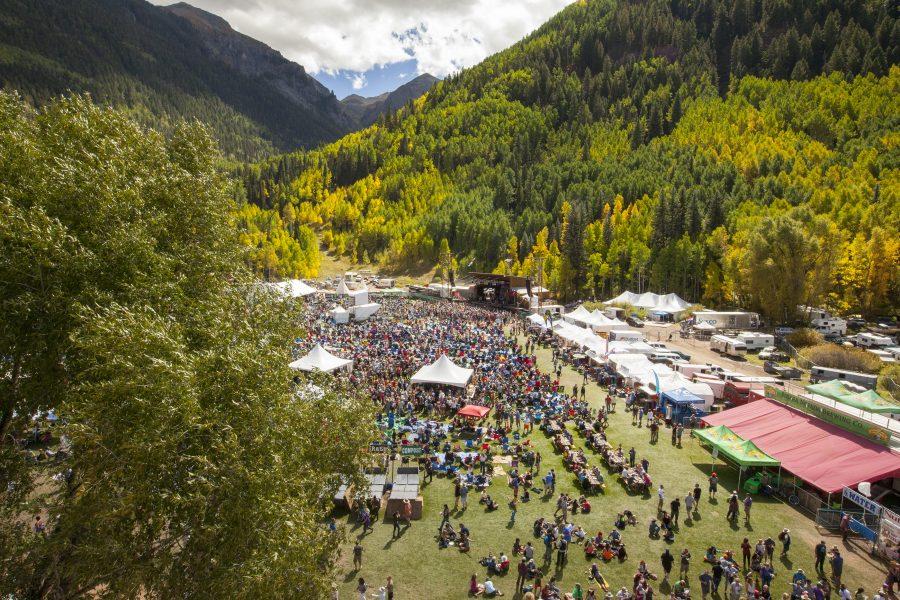 Telluride Blues & Brews. Brew festival. Featured Festival