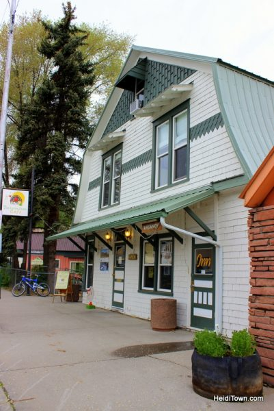 Where to Stay in Delta County, Colorado. The Living Farm Inn.
