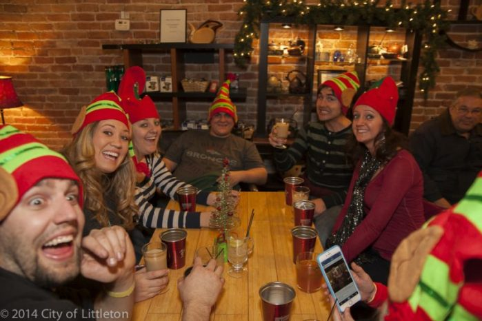 Skip the Christmas Parade, get drunk with elves