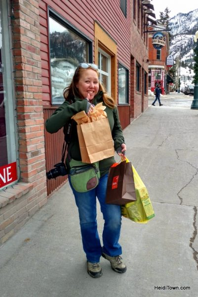 A Holiday Shopping Extravaganza in Ouray, Colorado. Heidi Kerr-Schlaefer, HeidiTown.com