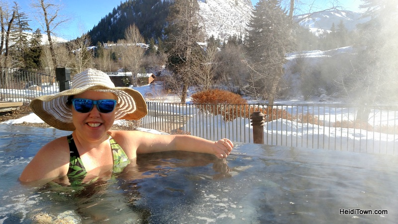 Best of HeidiTown 2016, salt water hot tubs at Westin in Beaver Creek, Colorado.