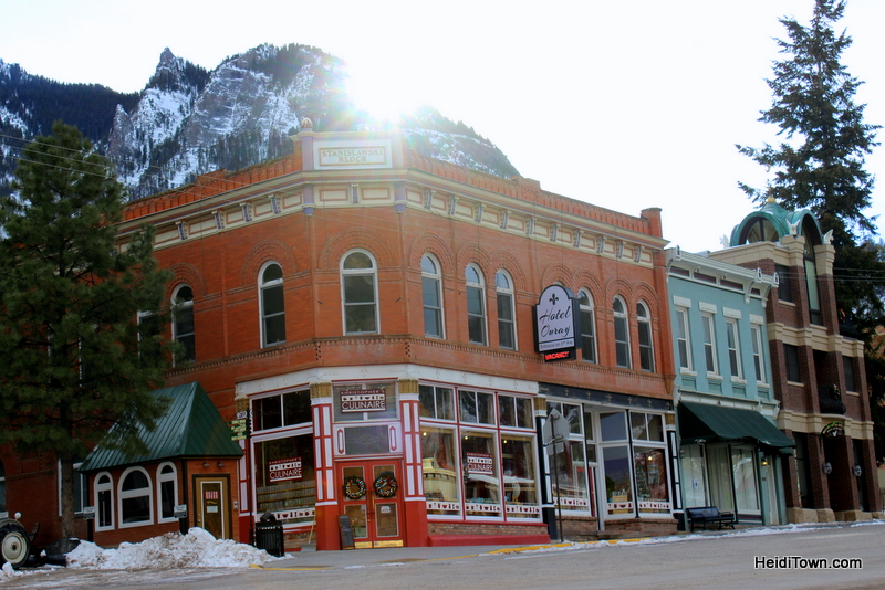 Kristopher's Culinaire and Hotel Ouray, Ouray, Colorado. HeidiTown.com