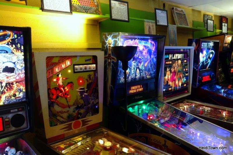 Whiskey, Lights, Pinball. Lyons Classic Pinball. HeidiTown.com