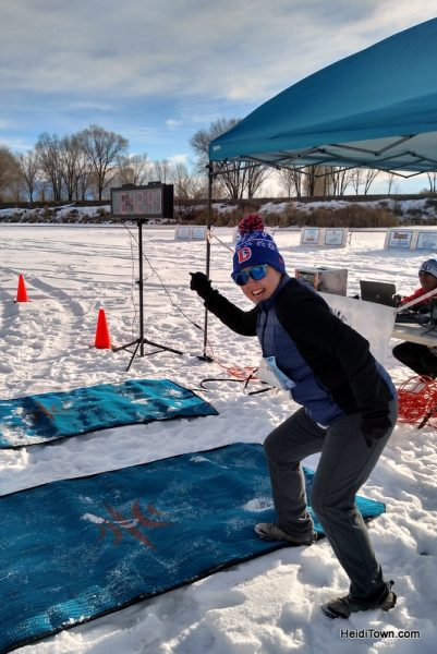 Rio Frio on Ice, 5K at the Rio Frio Ice Fest in Alamosa. HeidiTown.com