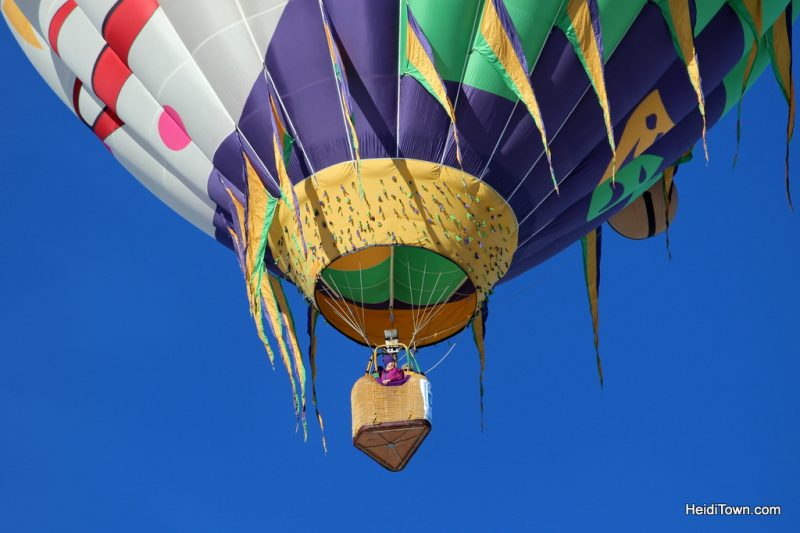 A Hot Air Balloon Ride in Pagosa Springs, Colorado with the Dickey Brothers. The Jester hot air balloon HeidiTown.com