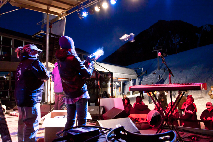 Bud Light Spring Jam, Aspen, photo by Seth Beckton