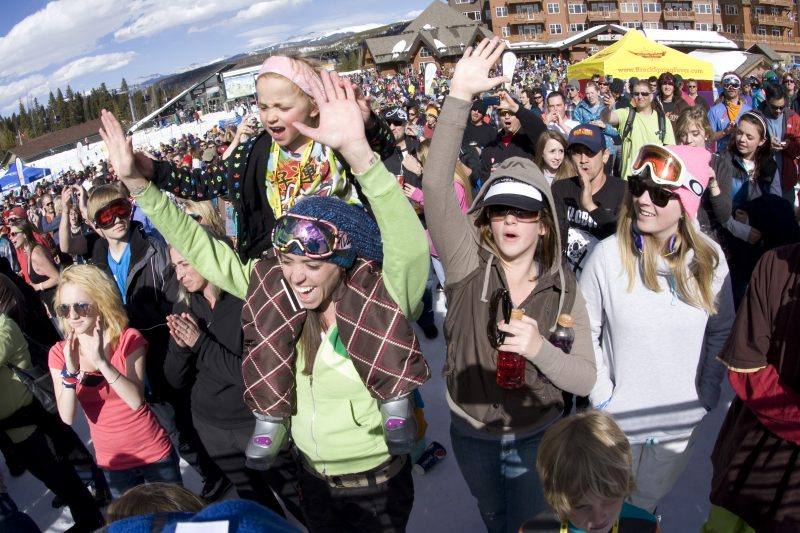 Spring Break Festivals in the Rockies, Breckenridge Spring Break courtesy of GoBreck