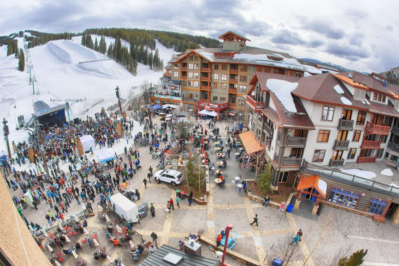 Spring Break Festivals in the Rockies, Copper Mountain Festival shot courtesy of Copper Mountain