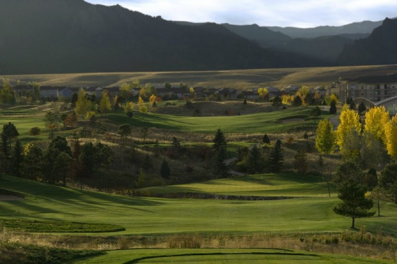 Staycation at Omni Interlocken, Broomfield, Colorado golf shot