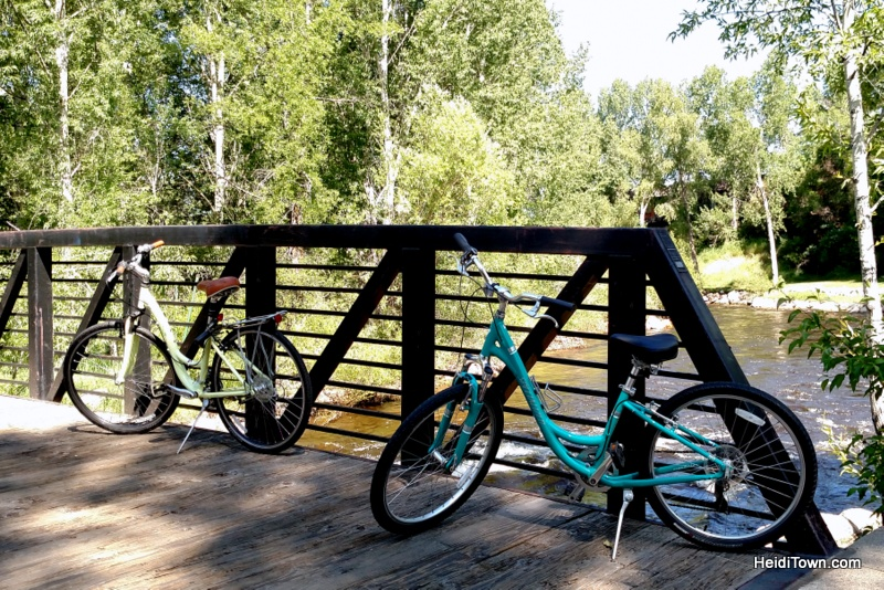 Six Reason to Visit Steamboat Springs, Yama Core Bike Trail. HeidiTown.com