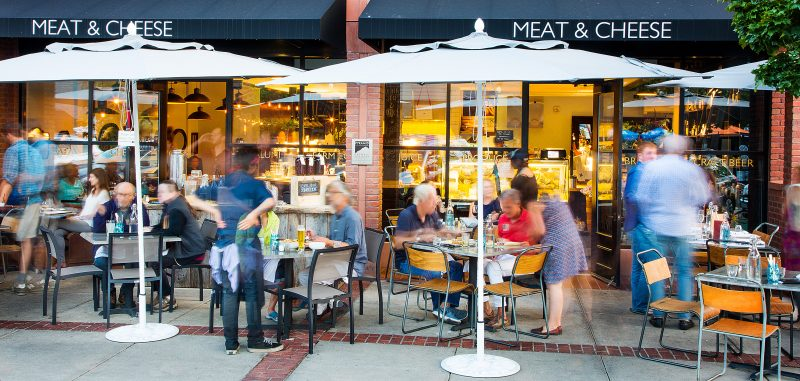 Dining in Colorado, Meat & Cheese in Aspen. HeidiTown.com