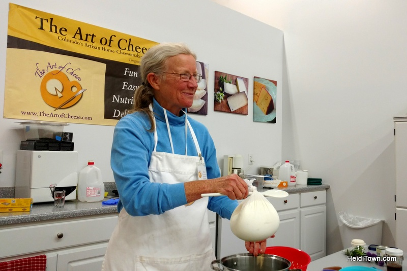 Cheese Making Class in Longmont is Deliciously Fun Becca Heins, HeidiTown.com