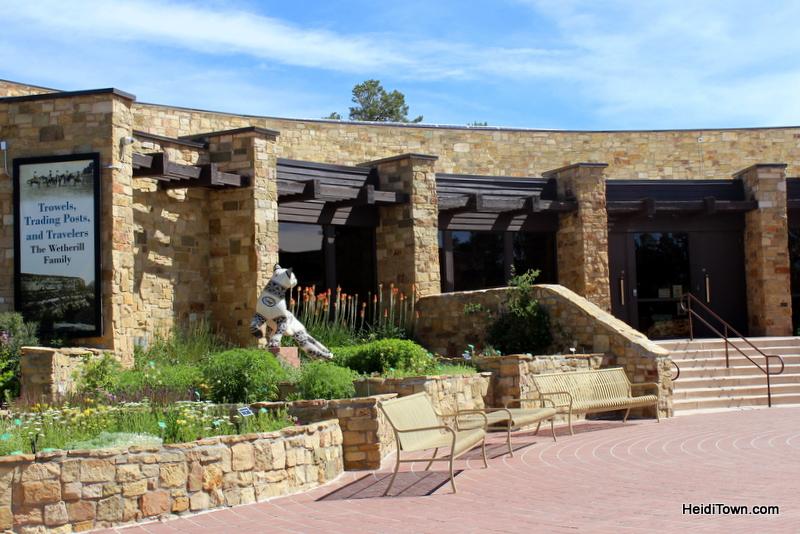 Cortez, Colorado, Blending the Past & Present. Anasazi Heritage Center HeidiTown.com