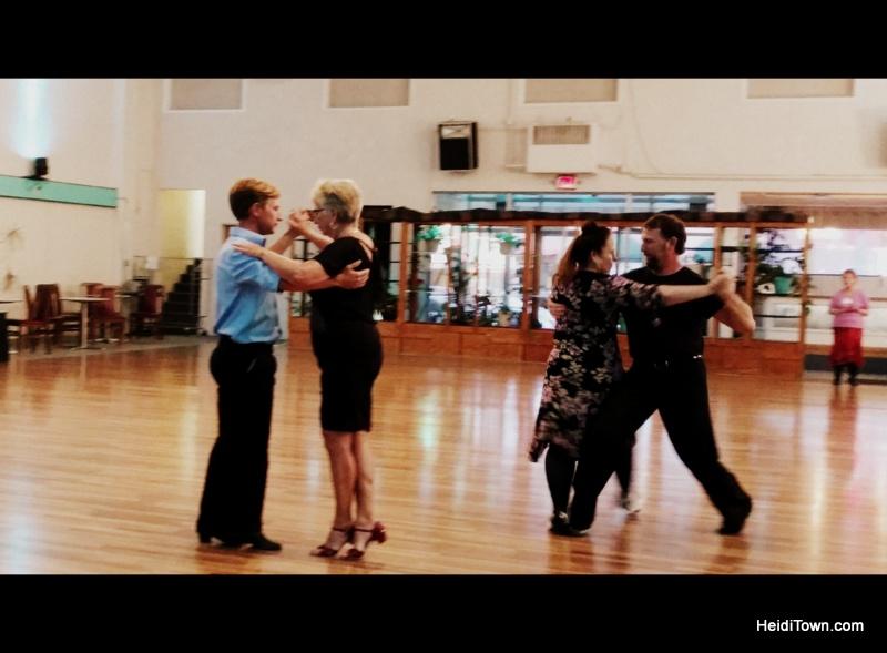 Cortez, Colorado, Blending the Past & Present. Dance Night at Millennium Center. HeidiTown.com