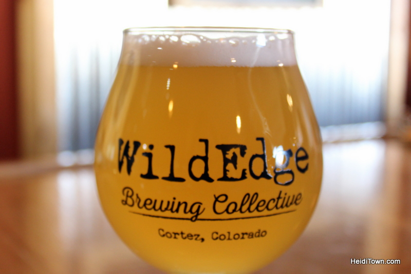 Cortez, Colorado, Blending the Past & Present. Wild Edge Brewing Collective. HeidiTown.com