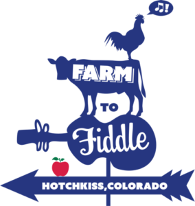 Farm to Fiddle Blue Logo