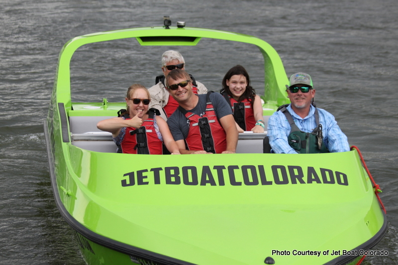 Jet Boat Colorado The Most Fun You can Have with Wet Clothes On. HeidiTown.com