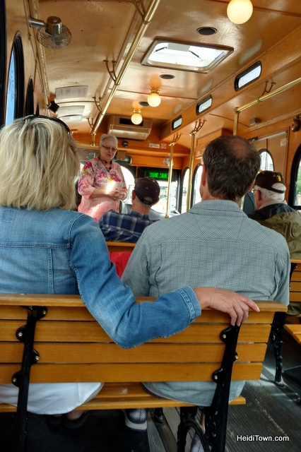 A Jolly Trolley Ride in Cheyenne, Wyoming. Our conductor Brenda was a hoot. HeidiTown.com
