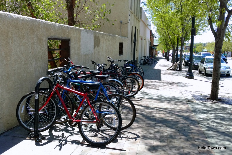 A Weekend Itinerary for Longmont, Colorado, HeidiTown.com. bikes on main street