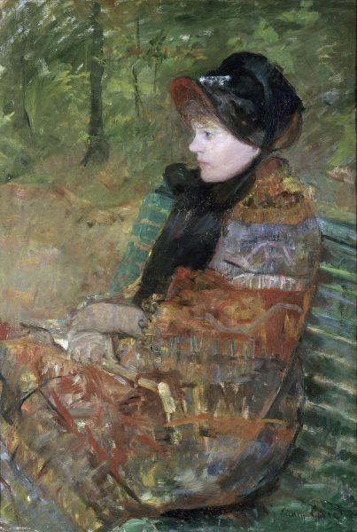Portrait de Mademoiselle C. , Lydia Cassatt Cassatt Mary (1844-1926) Paris, musÈe du Petit-Palais