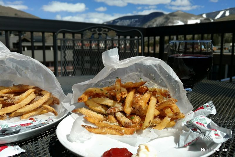 Five Reasons to Love Vail, Colorado, Truffle fries from Expert Burger. HeidiTown.com