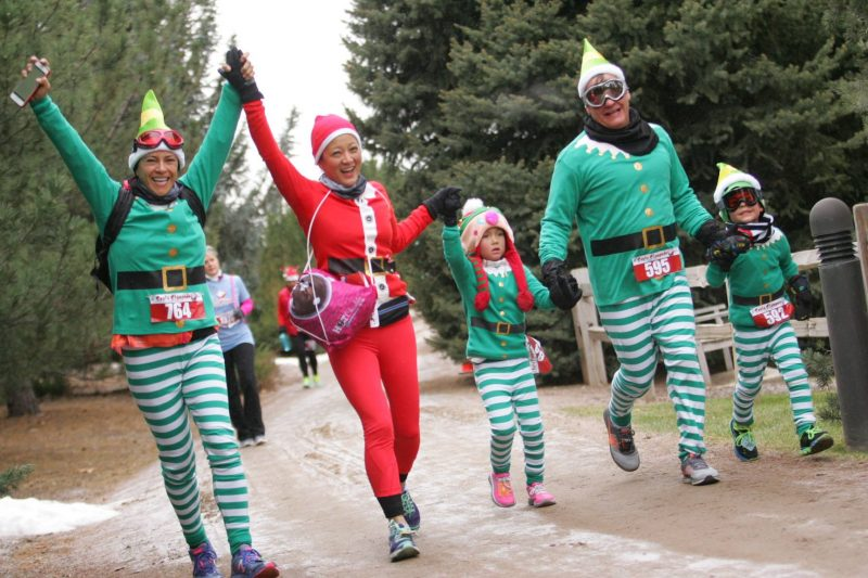 Santa Claus is Coming to Town 3 Santa Festivals in Colorado Photo credit Colorado Runner Events, Santa Stampede