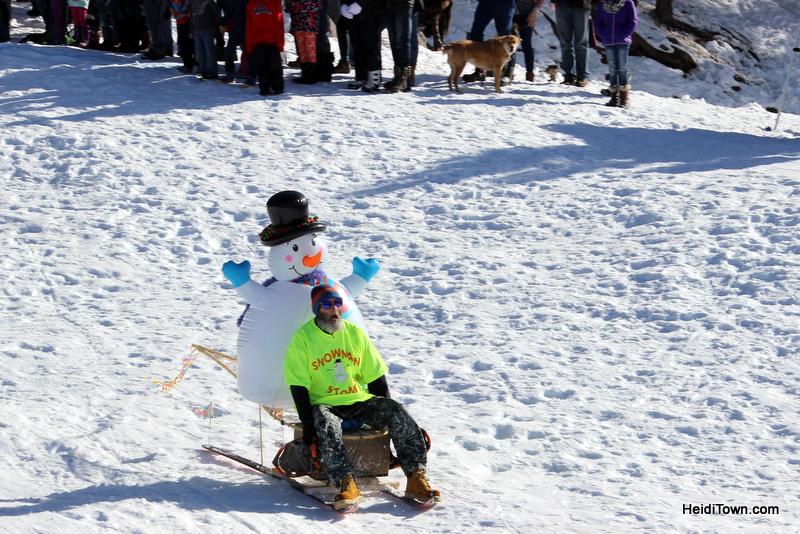 Pagosa Springs Winterfest, 2017. HeidiTown.com