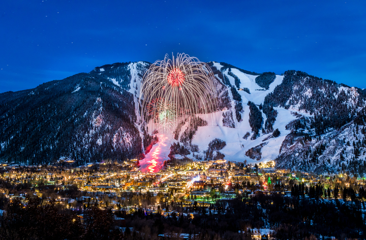 Party Hardy at these 3 Colorado Winter Festival, Aspen Fireworks, Aspen Chamber, C2 Photography
