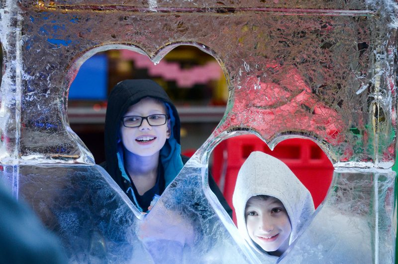 Featured Festival Loveland Fire & Ice 2018, Loveland, Colorado. kids. photo courtesy of the festival.