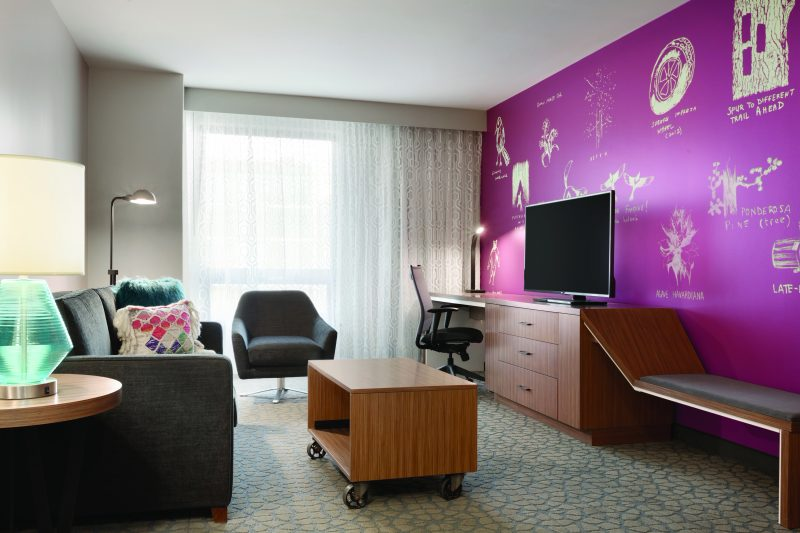 The Birds & the Bees & a Heated Pool at Two New Hotels in Boulder, Colorado.Hilton Garden Inn Boulder King Jr. Suite